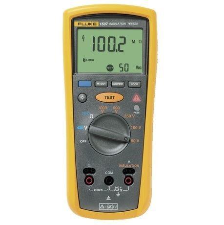 tester medidor de resistencia de aislamiento fluke 1507
