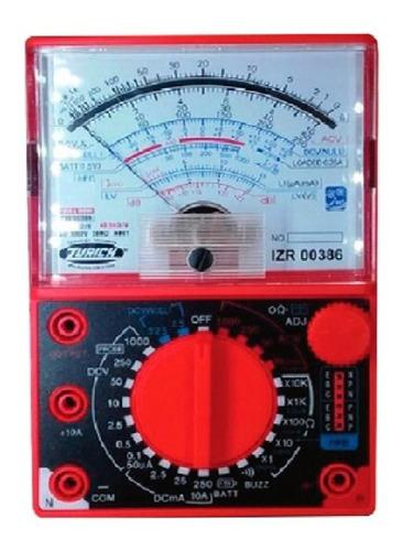 tester multimetro analogico zurich zr-386 buzzer ac dc