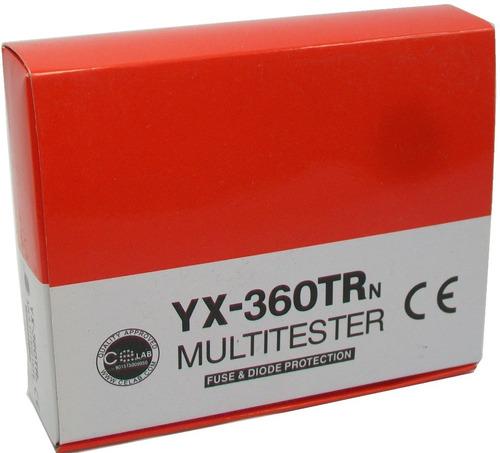 tester multimetro analogo rhino yx-360trn pantalla jumbo