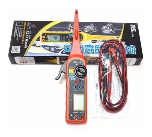 tester multímetro digital autos multifunción voltaje 0v-380