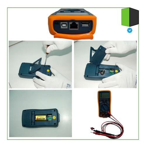 tester multimetro digital profesional nisuta redes luz cable