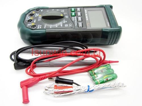 tester multimetro digital sensor ambiental