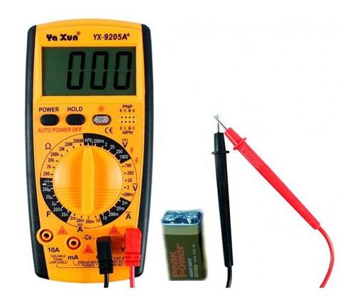 tester multimetro digital yaxun yx-9205a+ oferta tienda