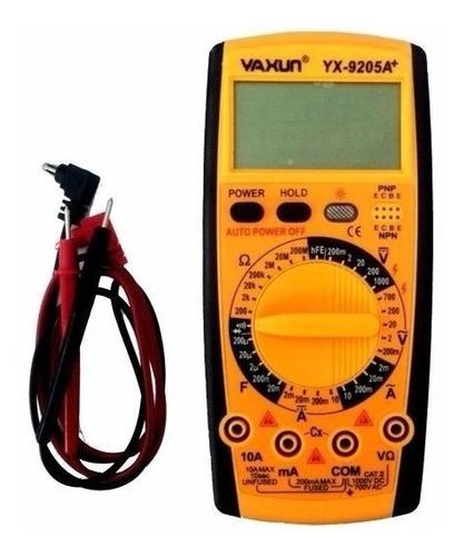 tester multimetro yaxun yx-9205 a