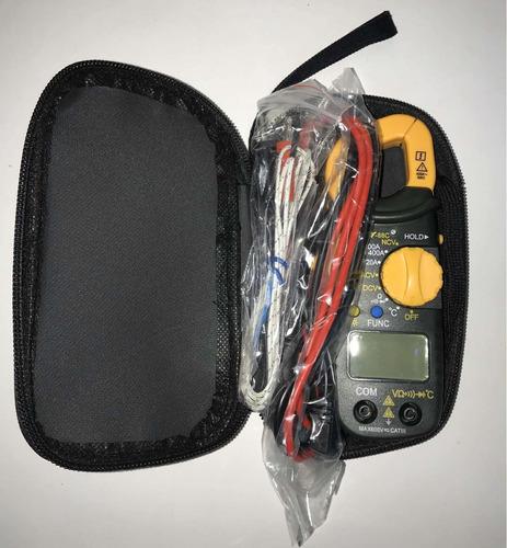 tester pinza amperimetrica digital chy-88c + pilas
