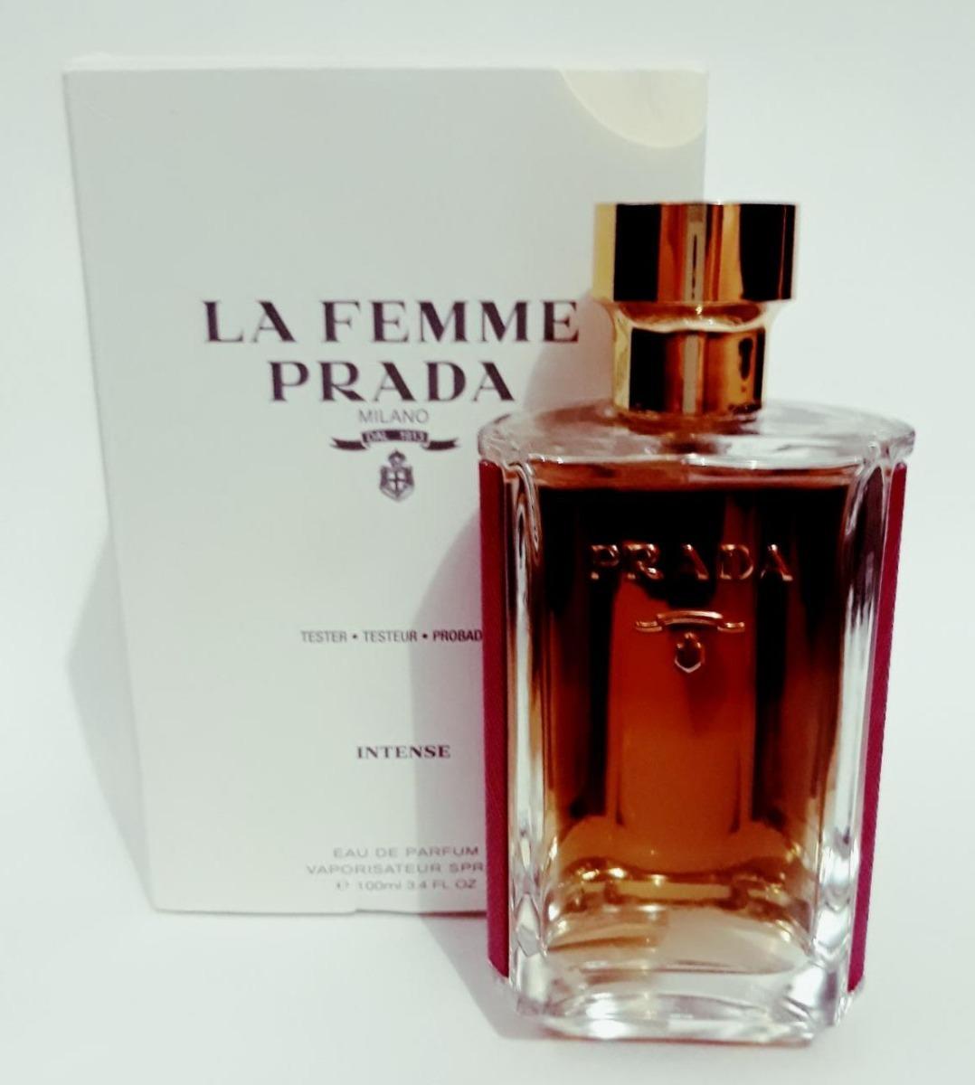 4740e0b759cac5 Tester Prada La Femme Intense Eau De Parfum 100ml - R  249,90 em ...