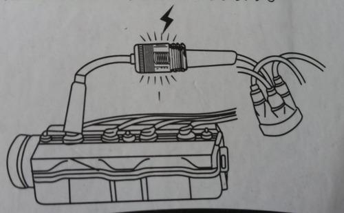 tester probador chispa bujías vehículos y motos