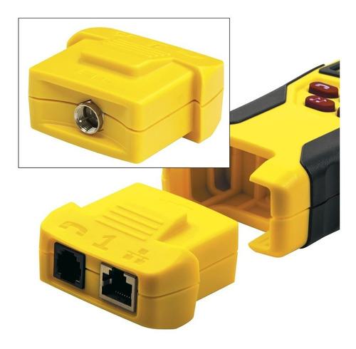 tester probador de cables remoto klein tools