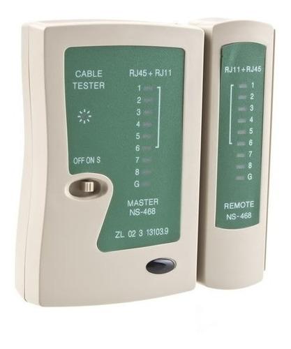 tester red glc 9 led apto rj 45 rj11 utp telefonico royal