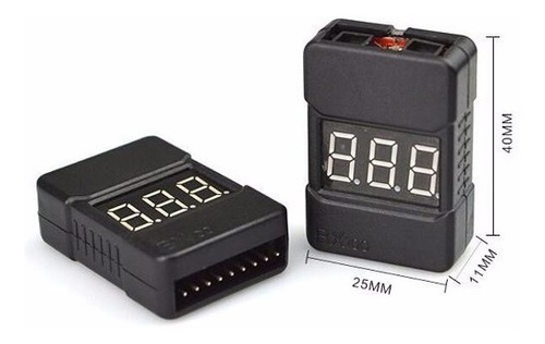 tester salva lipo baterias bx100 salvalipo voltimetro