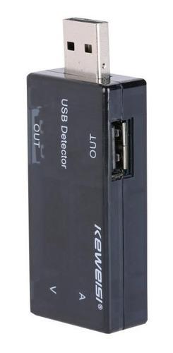 tester usb estado puerto amperaje voltaje digital