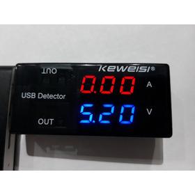 Tester Voltimetro Usb Amperimetro Analizador * Super Oferta *