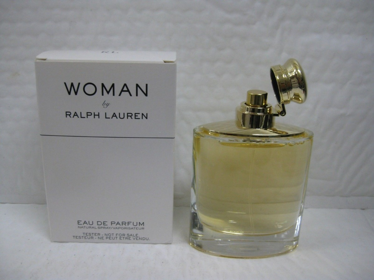 7360e8ae9 tester woman by ralph lauren eau de parfum 100ml + amostra. Carregando zoom.