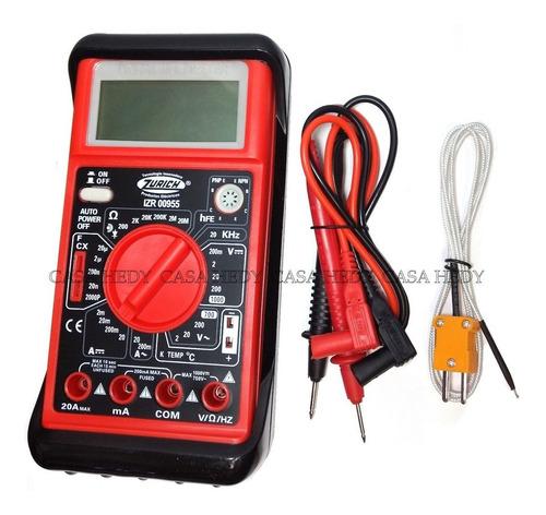 tester zurich multi izr955 temp. capacimetro frecuencia 890g