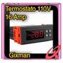 Controlador Digital Temperatura Termostato Incubador 110v16a