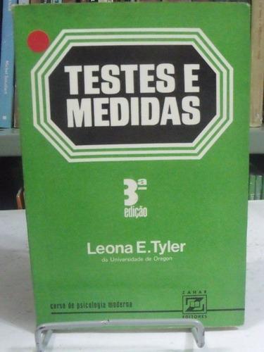 testes e medidas - leona e. tyler