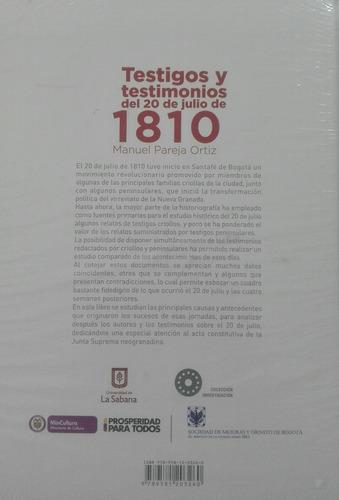 testigos y testimonios 20 de julio manuel pareja jb95