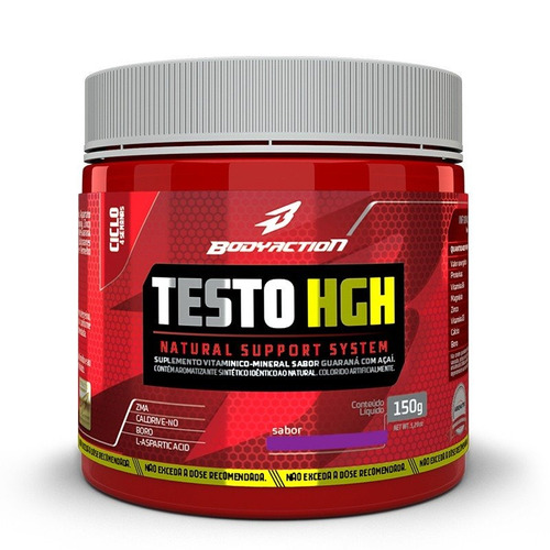 testo hgh 150g - body action aumento de testosterona oferta