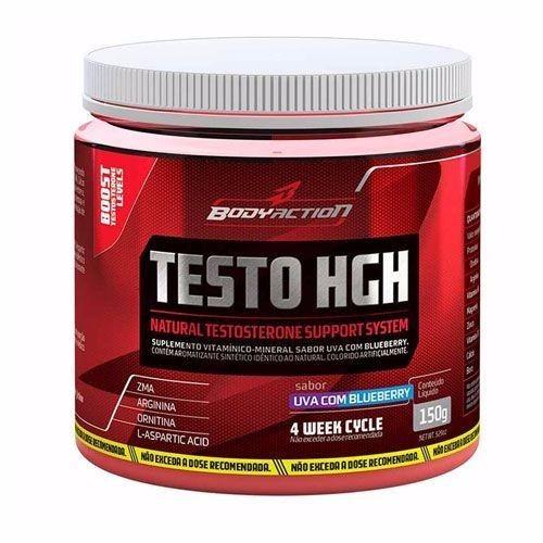 testo hgh - 150g guarana com açai - bodyaction