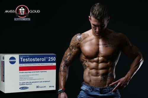 testosterol 250  suplemento masa muscular 100% original