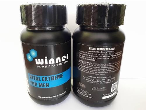 testosterona vital extreme for men 100% virilidad y energia