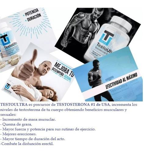 testoultra - aumenta tus niveles de testosterona original