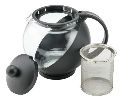 tetera de vidrio con infusor 740 ml winco envío gratis