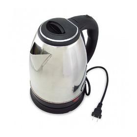Tetera Eléctrica Hervidor Agua Calentador  2 Litros Plateada