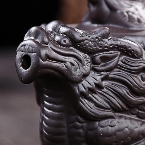 tetera en forma de dragon cafetera de arcilla 530 ml h1337