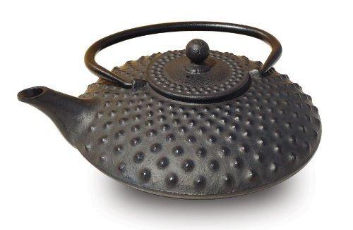 tetera old dutch cast iron amity, 26 onzas, negra