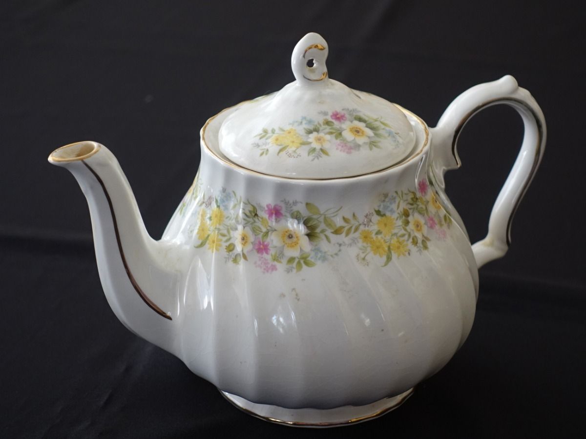 Tetera Porcelana Inglesa Antigua - Sadler & Sons (1 Lt ...
