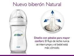 tetero avent natural  9 onzas - anticolico originales