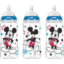 Set De 3 Teteros Nuk De 10oz / 300ml Disney Minnie Y Mickey