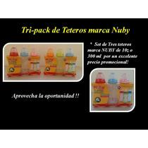 Tripack De Teteros Nuby