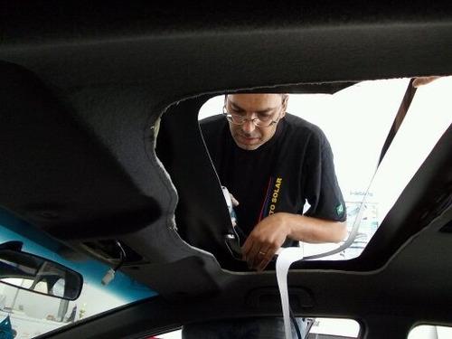 teto solar automotivo - instalação e manutenção - fufão