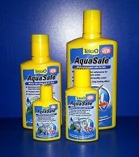 tetra aquasafe plus 250 ml original elegi mundo acuatico