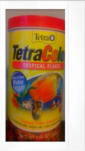 tetra color flakes