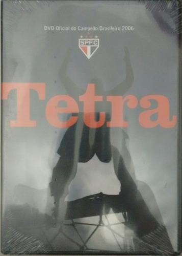 tetra dvd oficial do campeão brasileiro 2006