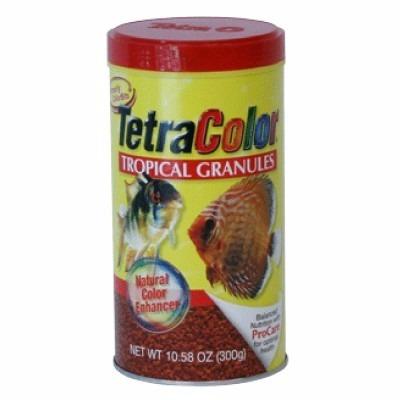 tetra tetracolor tropical granulos 300g alimento para peces