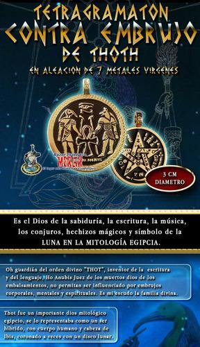 tetragramaton de thoth - contra embrujos