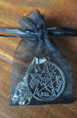tetragrammatón acero quirúrgico-poderoso amuleto  consagrado