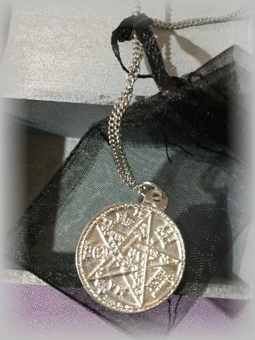 tetragrammatón amuleto de protección consagrado cadenaniquel