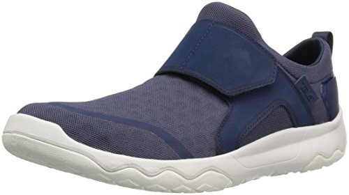 teva hombre m arrowood swift slip on hiking shoe, azul marin