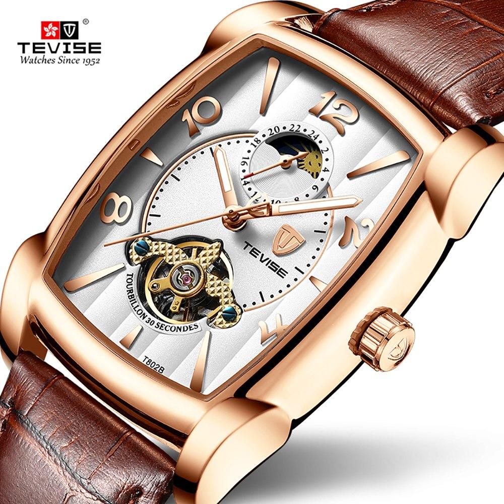 4d2cd5b65bd0 tevise t802b hombres negocios reloj mecánico automático moda. Cargando zoom.
