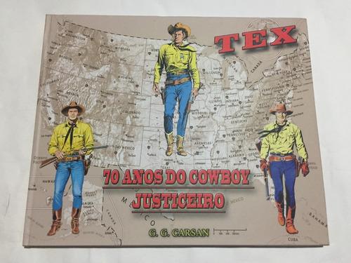 tex 70 anos do cowboy justiceiro - bonellihq cx403 j18
