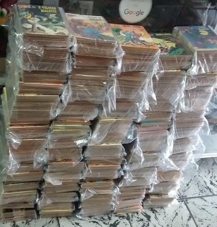 tex coleção 1a edição 200 ao 585 valor cada um gibi