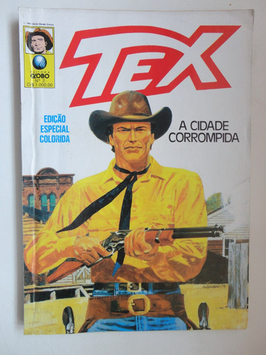 tex edição especial colorida nº 2 a cidade corrompida est127