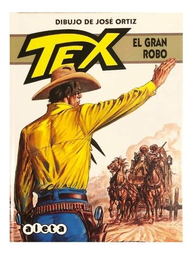 tex - el gran robo - aleta ed. - spaghetti western