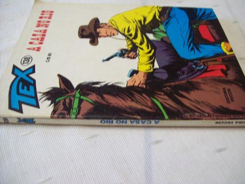 tex nº 138: a casa no rio - 1ª edição - 1982 -vecchi