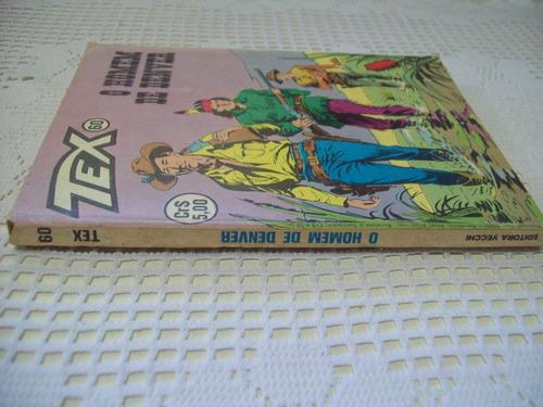 tex nº 60: o homem de denver - 1ª edição - 1976 - vecchi